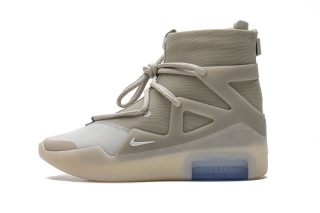 """2020.12 Authentic Nike Air Fear of God 1 """"Oatmeal"""" Men Shoes"""