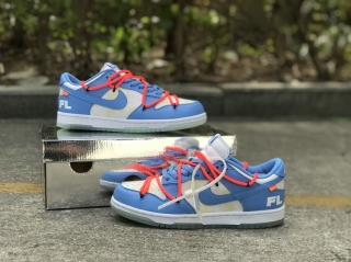 2021.4 OFF-WHITE x Authentic Nike Dunk Low Men And Women Shoes -ZL (6)