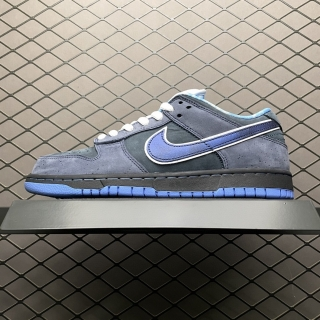 """2021.6  Authentic Nike SB Dunk Low """"Blue Lobster""""Men And Women Shoes -JB900 (86)"""